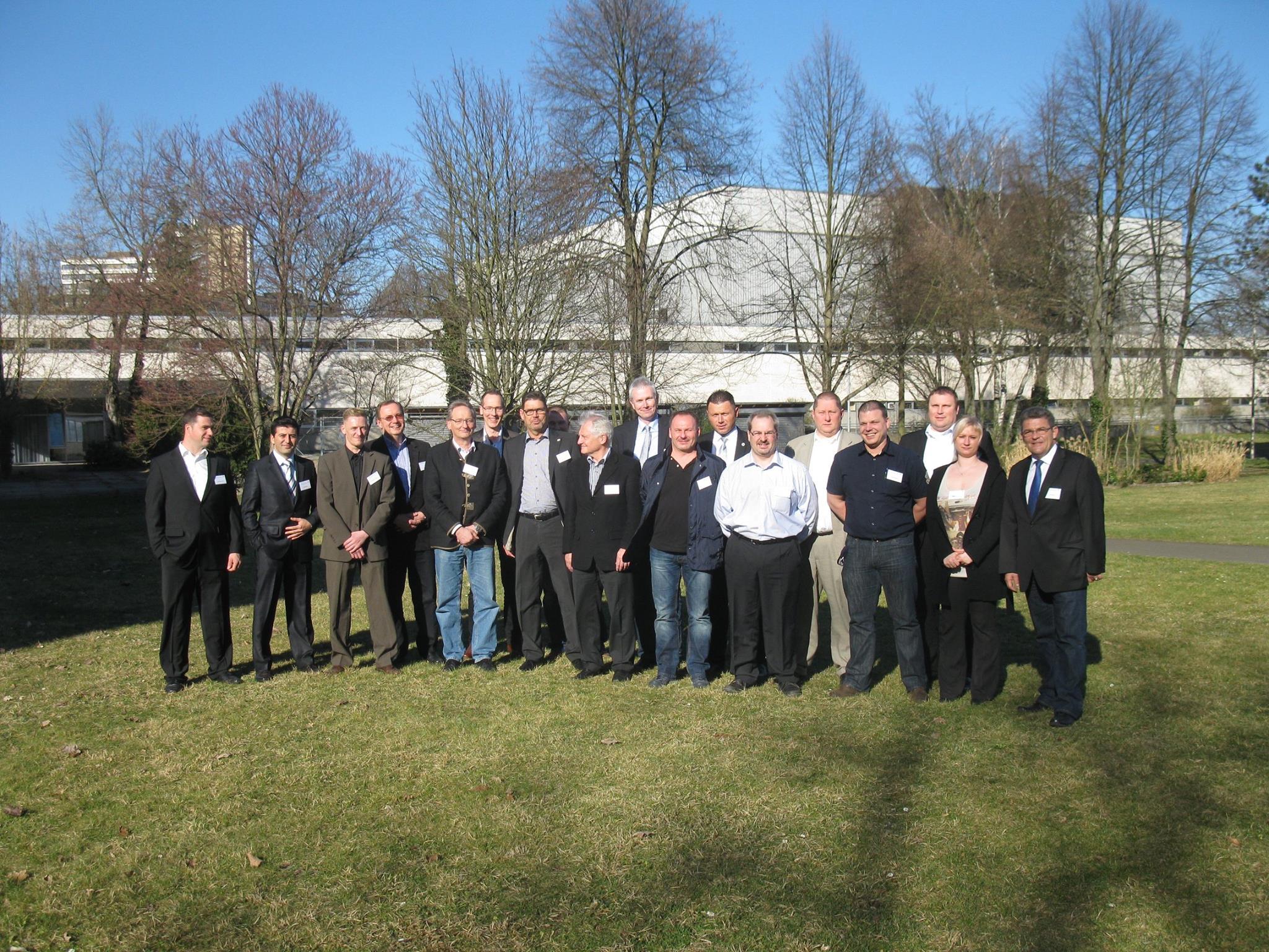 Gruppenfoto der Gründungsmitglieder (BVMS)